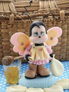 Abejita Dulce Miel - Porcelana Fría