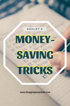 Ashley's Money-Saving Tricks Monthly Expenses, Cleaning Spray, Debt Free, Money Saving Tips, Budgeting, Blogging, Budget Organization, Saving Tips