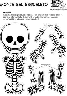 Esqueleto articulado para imprimir - Imagui