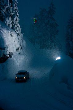 #Lufelive @LUFELIVE #Snowboarding #snowboard #NightShot