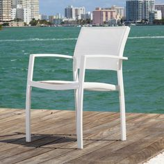Source Outdoor Fusion Arm Chair (Set of 2) | AllModern