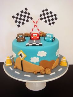 Check out these 25 amazing examples of cakes paying tribute to Pixar from Toy Story to Cars to Brave. This Lightning McQueen design takes the cake!