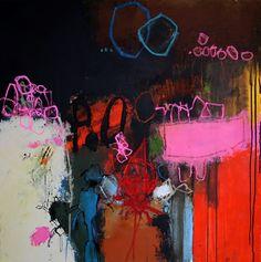 """""""Atterrissage"""" ~nadine bourgne, artist"""