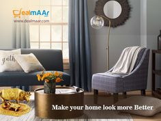 Express yourself with well designed and #decoratedhome.And it can be happened with #dealmaar as it offers all kinds of #homedecorative products that are required for your home.