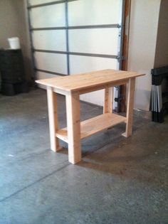 Work Bench | Do It Yourself Home Projects from Ana White