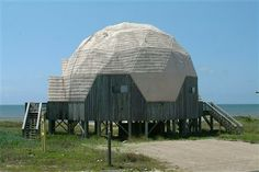 Dome Ecile, a vacation rental on St. George Island, Florida is seen in a handout photo. REUTERS-Collins Vacation Rental-Handout