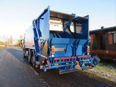 NTM KG-2B Śmieciarki dwukomorowe. Refuse truck, rear loader, garbage vehicles, Kommunalfahrzeuge, Benne a ordures, Recolectores, camion, Carico posteriore