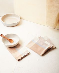 Albers Napkin Oak | Kitchen Textiles | MINNA