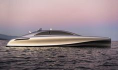 As part of the Miami Art Basel art fair, Mercedes-Benz is unveiling their first luxury yacht.