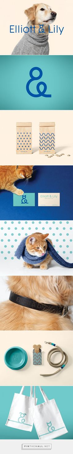 Elliott & Lily | lg2 on Behance. Branding, visual identity, vet, pets, logo design