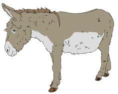 Donkey Clip Art Download