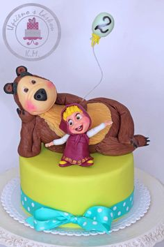 Masha and the bear - Cake by Tynka
