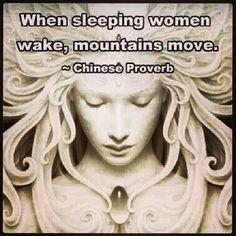 #sleeping #women #wake #mountains #move
