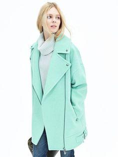 Moto Cocoon Coat