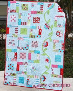 Quilt Pattern PDF Sew Charming charm pack easy by QuiltStory, $9.00 love this but may be a little complicated for me