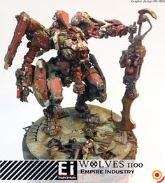 Empire Industries ● 1/100 wolves WOLVES ● Pre-paid special code first