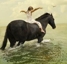 bareback - my favorite way to ride