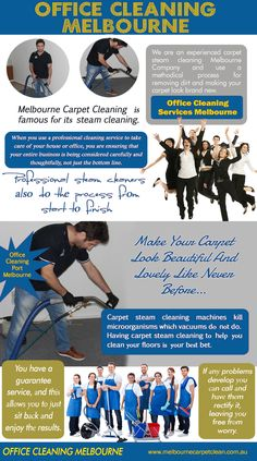 Check Out The Website http://www.melbournecarpetclean.com.au/ for more information on Commercial cleaning services melbourne. Steam generated from ordinary tap water is non-toxic and safe. It gives a total natural cleaning to your entire household. Cleaning with steam cleaners maintains an eco-friendly atmosphere at your home thus there is no need to compromise with the health and well-being of your family.