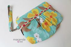 Gift ideas for Christmas READY to SHIP  Coco Medium Zippered Clutch  Dogwood by marandalee, $26.00