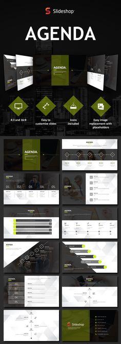 SWOT analysis presentation template #presentationdesign #SWOT - format of an agenda