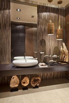 Home decoration is one of the most important elements that help you to define the… Modern Bathroom Decor, Bathroom Interior Design, Modern Interior Design, Bathroom Ideas, Budget Bathroom, Bathroom Organization, Small Bathroom, Modern Powder Rooms, Powder Room Vanity