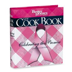 My mom used this book when we were younger. Now I can eat all my favorites and support the cure!