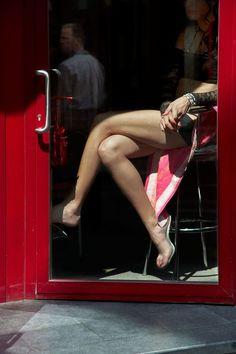 harry gruyaert /Magnum Photos Belgium, Antwerp's red light district, 2010