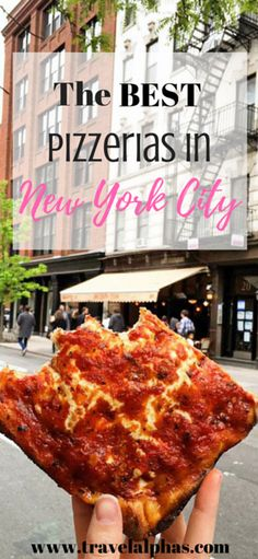 These are the best pizzerias in all of New York City!