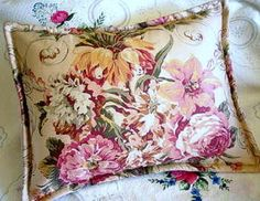 GUINEVERE Pair Custom Made Decorative Boudoir Pillow by Sew1Pretty, $24.00