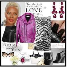 """""""Plum Leather"""" by thedyb on Polyvore I love the plum color of this Saint Laurent leather jacket!   #fashion #shoes #Burberry #wedges #ankleboots #diamonds #jewelry #accessories #earrings #necklace #black #purple #plum #blackandwhite #handbag #bag #animalprint #leather #leatherskirt #leatherjacket #skirt #skirts #pleated #miniskirt #dressy #hot #haute #xfactor #fabulous #fashionista #chic #girly #party #style #hairstyle #hairstyle #outfit  #jacket #nailpolish #nailtrend #nailtreatment"""