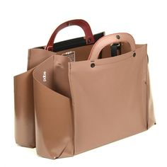 Double Wide Tote- Briefcase Handle by EQPD