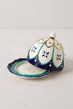 from anthropologie--butter dish Livadia Serveware - anthropologie.com