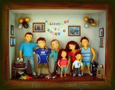 Patricia Cruzat Artesania y Color: Toda la FAMILIA en un Gran Cuadro!