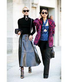 Paris Fashion Week street style (so far), Buro 24/7 Australia, Buro 24/7