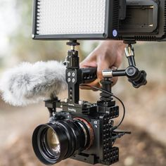 SmallRig Sony Cage is specially designed for Sony It is compact and lightweight. Camera Rig, Camera Gear, Sony A6300, Sony A7s, Fearless Photography, Cinema Camera, Arduino Projects, Film Aesthetic, Photography Equipment