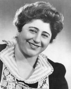 "Gertrude Berg aka ""Molly Goldberg"""