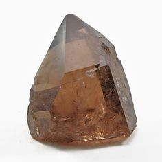 Rutilated Smoky Quartz 4.76 inch 2.65lbs Natural Crystal Point - Brazil Natural Crystals, Smoky Quartz, Brazil, Gems, Rustic, Brown, Nature, Country Primitive, Gemstones