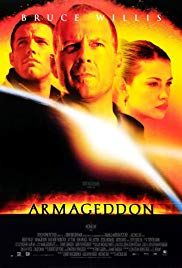 I was obsessed with Armageddon when it came out in I loved Bruce Willis, Ben Affleck, Billy Bob Thornton, and Liv Tyler Film Movie, Film Gif, Film D'action, Bon Film, See Movie, Armageddon Movie, Film Mythique, Michael Bay, Action Movies