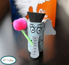 This cardboard Horton is a great activity for kids who love Horton Hears a Who!