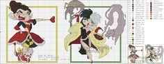 Queen of Hearts & Cruella Deville