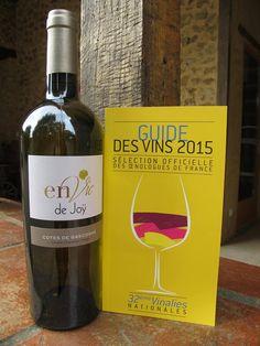 envie de Joy / domaine de joy http://www.plaisirsdegascogne.com/boutique/fr/joy-envie-blanc  Prix d'Excellence pour la cuvée Envie de Joÿ 2013 dans le Guide des Vins 2015 Sélection officielle des Œnologies de France 32iéme Vinalies Nationales.