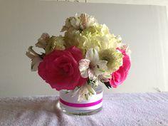 Baby Shower Flowers #FiddleandOrchid