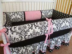 baby girls bedding inspiration