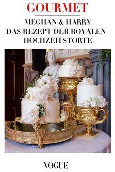 Das Rezept unter vogue.de  #Vogue #Hochzeitstorte #Royals #Kuchen #Torte #Wedding #Hochzeitskuchen #weddingcake  #prinzharry #prinz #meghanmarkle #prinzessin #hochzeitsinspiraionen