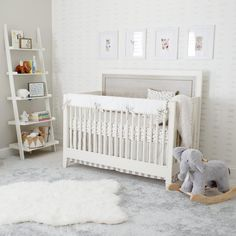 gender neutral nursery all white nurseries