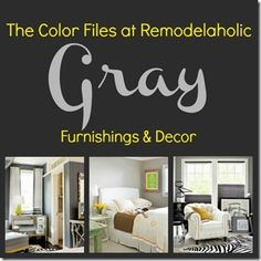 Paint colors: gray