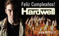¡El cumpleaños del DJ #1 del mundo, Hardwell! Felicidades