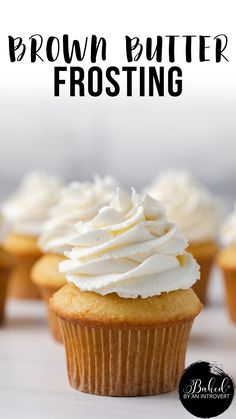 Best Frosting Recipe, Homemade Frosting Recipes, Cupcake Frosting Recipes, Homemade Cakes, Cupcake Cakes, Homemade Cupcake Icing, Best Frosting For Cupcakes, Simple Cupcake Recipe, Gastronomia