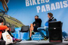 L'ultrarunner Stefano Gregoretti e Marco Beni, raccontando le loro avventure .. uno dei tanti interessanti incontri degli #AdventureDays - #Livigno #festival #outdoor #adventure #ilovetrekking #XRunners