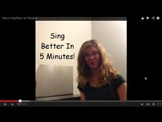1: Awesome Singing = Linking Your MIND to Your BODY - Felicia ...